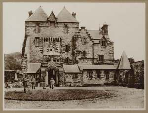 Craig y Nos Castle Old Picture circa 1845-1870