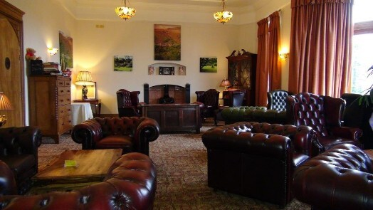 Nicolini Lounge as it is today - as main sitting room at Craig y Nos Castle