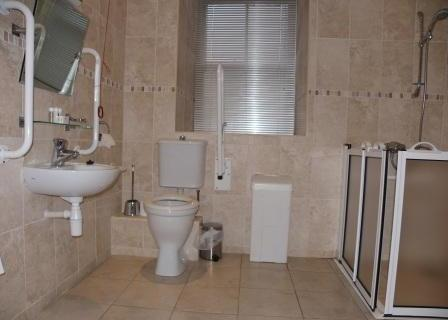 Dog Friendly hotels - Craig y Nos Castle  in Wales AB11 bathroom