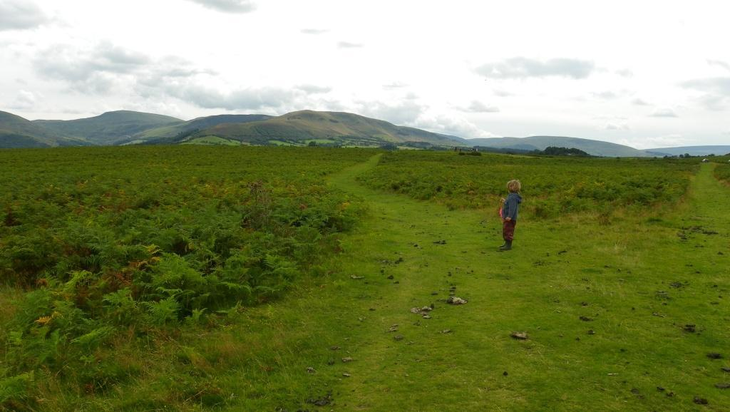 Brecon Beacons Mountain Centre Daniel Gover walking on path