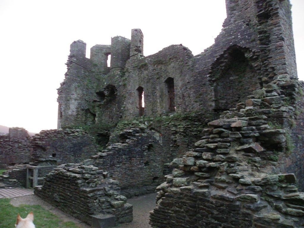 Caerphilly Castle ruins