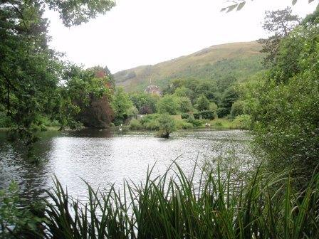 Dog Friendly hotels Wales - Craig y Nos Country Park Boating Lake