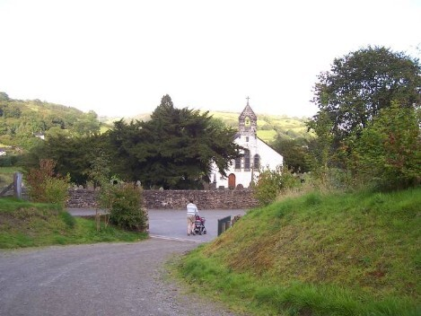 Dog Friendly B&B Wales - a dog's visit to Talley Abbey and church