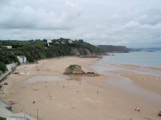 Dog Friendly B&B Wales - a dog's day out in Tenby with magnificent long sandy beach