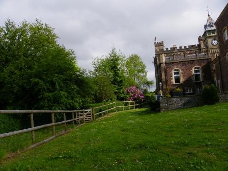 Dog Friendly holidays in Wales - Craig y Nos Castle Comfort Areas, theatre gardens with gate access to lower gardens and Craig y Nos Country Park